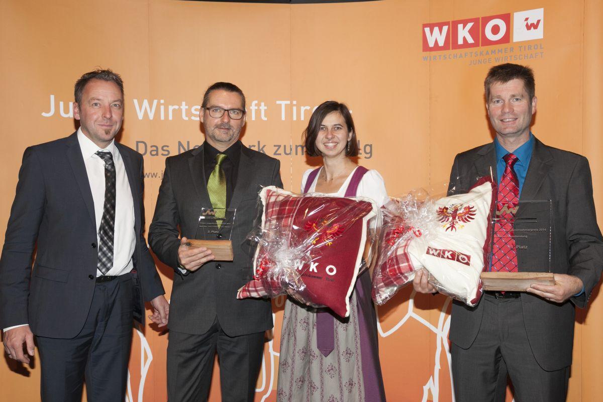 Jungunternehmerpreis Für Wolfgang Lausecker Von CoolTech